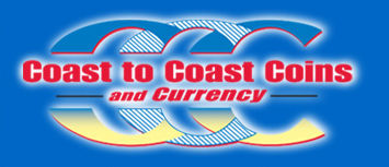 CoastCoin has largest selection of certified, graded rare coins and currency
